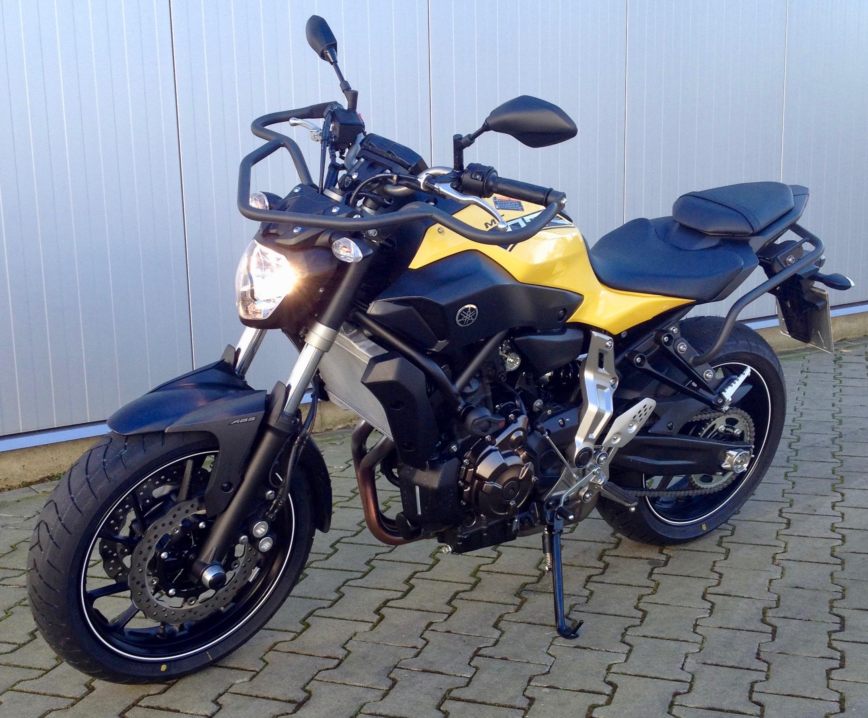 Yamaha MT 07 (Klasse A)